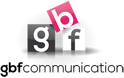 logo GBF Communication - conception de sites Internet
