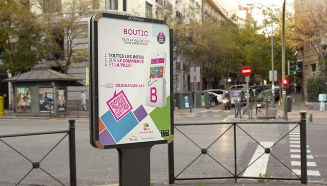 Boutic campagne de communication affiches grand format