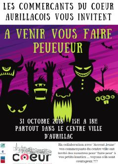 Commerces Aurillac - Halloween 2018