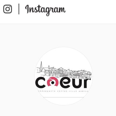 Commerces Aurillac - sa page Instagram