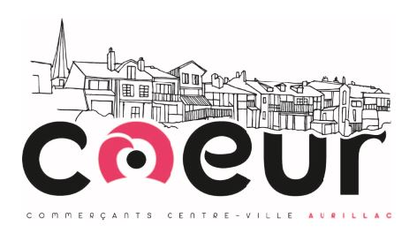 Commercants Aurillac - Logo